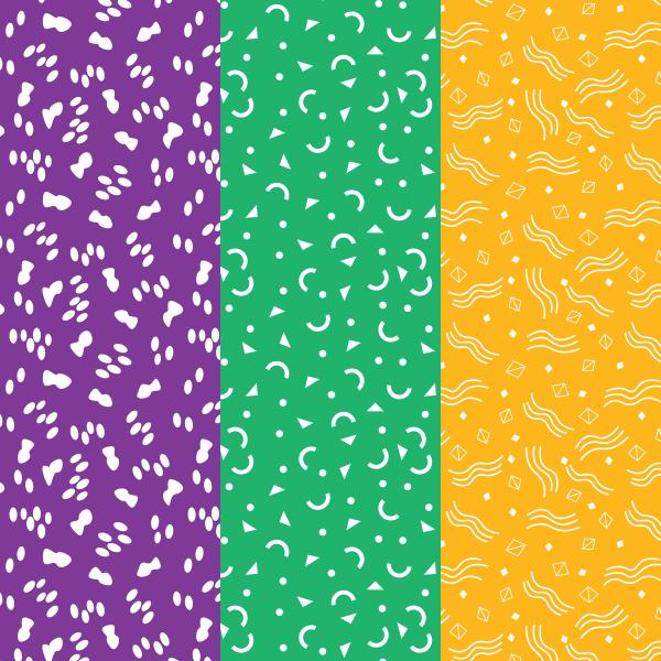 Simple Illustrator Shape Patterns